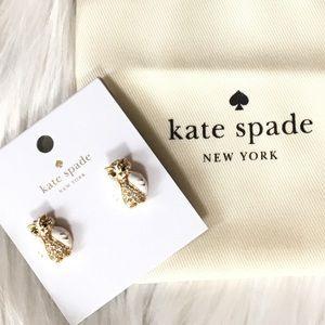 Kate spade owl earring